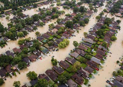 Houses Flooding