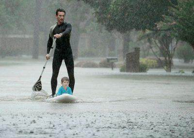 Houston Stronger Kid & Paddleboard