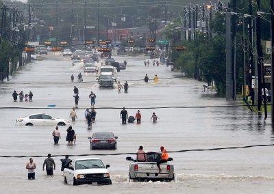 Houston Stronger Street flooding